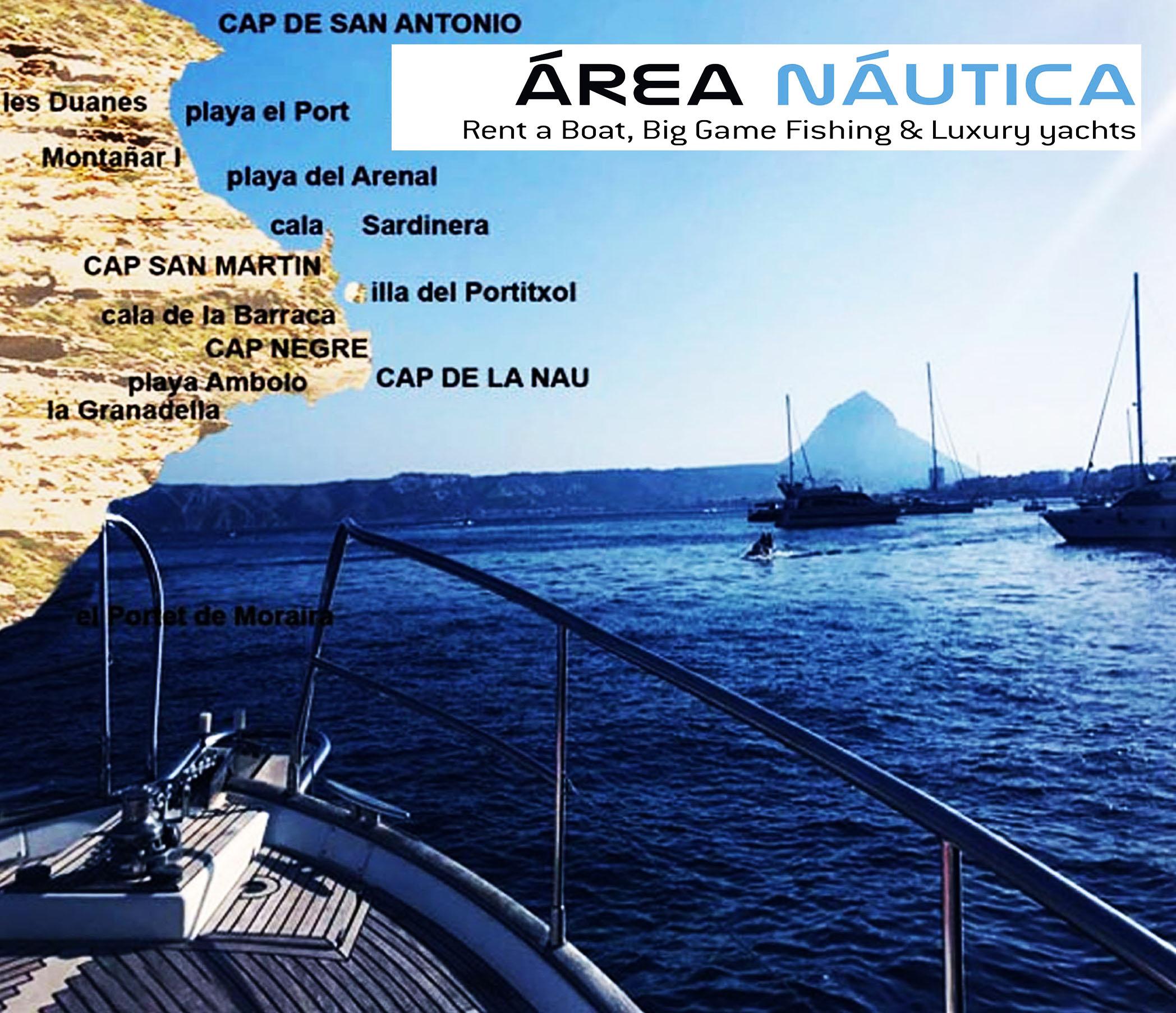 Excursiones en barco Jávea